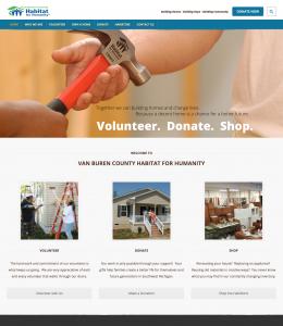 Habitat for Humanity - Wordpress Informational